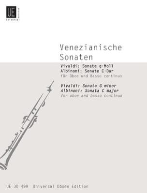 VIVALDI - Venezianische Sonaten - Oboe u. Bc - Sheet Music - di-arezzo.com