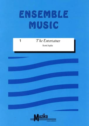 Scott Joplin - The entertainer -Ensemble - Partition - di-arezzo.fr