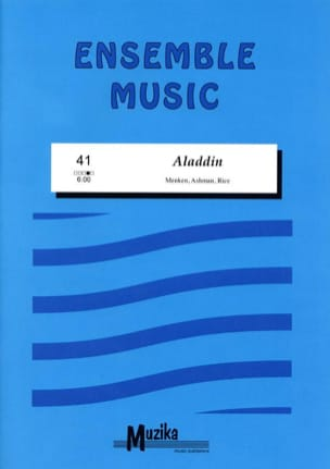 Aladdin -Ensemble Menken / Ashman / Rice Partition laflutedepan