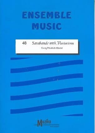HAENDEL - Sarabande with variations - Together - Sheet Music - di-arezzo.co.uk