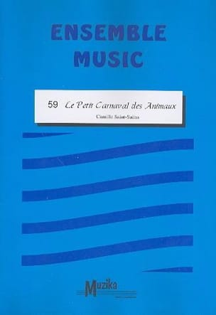 Camille Saint-Saëns - The little carnival of animals - Together - Sheet Music - di-arezzo.com