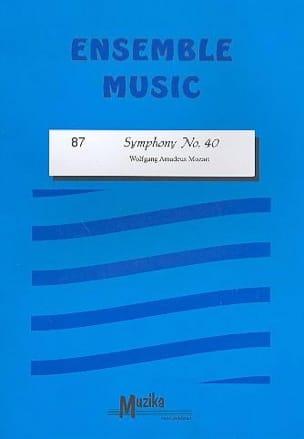 Symphony n° 40 -Ensemble MOZART Partition ENSEMBLES - laflutedepan
