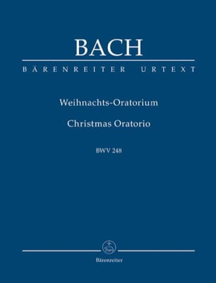 BACH - Weihnachtsoratorium. Urtext of the Neuen Bach-Ausgabe - Sheet Music - di-arezzo.co.uk
