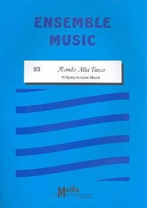 Rondo alla turca -Ensemble - MOZART - Partition - laflutedepan.com