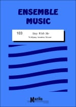 MOZART - Stay with me - Sheet Music - di-arezzo.com