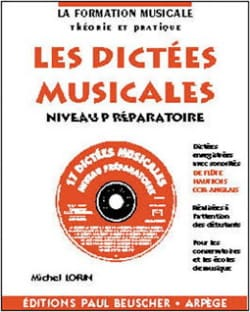 Michel Lorin - Musical dictations - Preparatory - Sheet Music - di-arezzo.co.uk