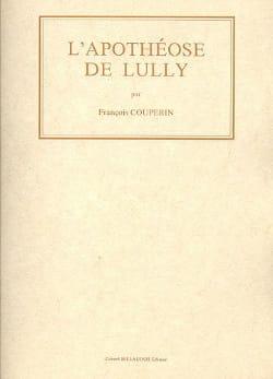 François Couperin - L' Apothéose de Lully –Fac simile - Partition - di-arezzo.fr