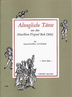 - Altenglische Tänze Aus Dem Fitzwilliam Virginal Book - Soprano Flute - Sheet Music - di-arezzo.co.uk