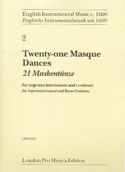 - 21 Mask Dances - Soprano and BC Recorder - Sheet Music - di-arezzo.com