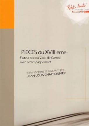 Jean-Louis Charbonnier - Pieces of the XVIII Volume 2 - Sheet Music - di-arezzo.co.uk