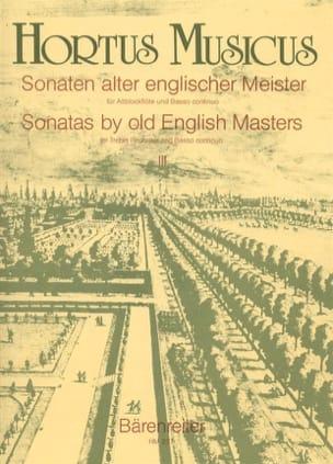 - Sonaten alter englischer Meister - Bd. 3 - Altblockflöte u. Bc - Sheet Music - di-arezzo.com