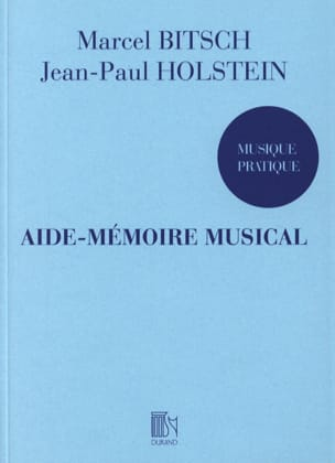 Bitsch Marcel / Holstein Jean-Paul - Musical reminder - Sheet Music - di-arezzo.co.uk