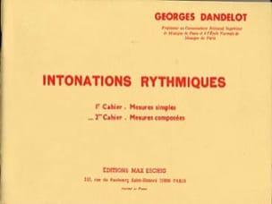Intonations Rythmiques - 2ème cahier - laflutedepan.com