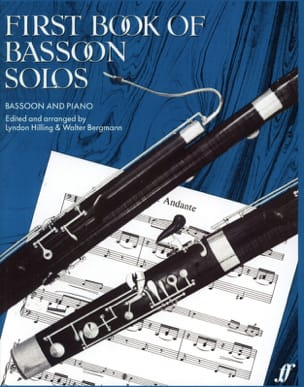 Hilling Lyndon / Bergmann Walter - First book of Bassoon Solos - Sheet Music - di-arezzo.com