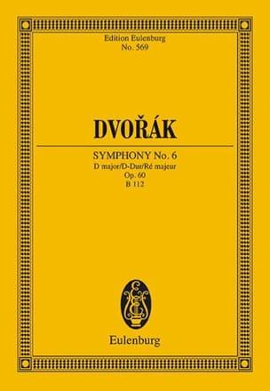 Antonin Dvorak - Symphonie N° 6 D-Dur - Partition - di-arezzo.fr