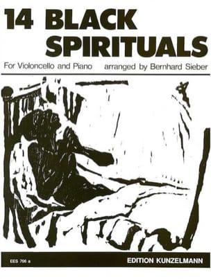 Bernhard Sieber - 14 Black spirituals - Partition - di-arezzo.fr