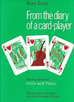 Rory Boyle - From the diary of a card-player - Partition - di-arezzo.fr