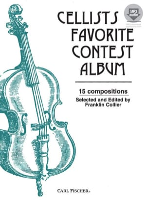 Francklin Collier - Cellists favorite Contest Album (avec accompagnement audio) - Partition - di-arezzo.fr