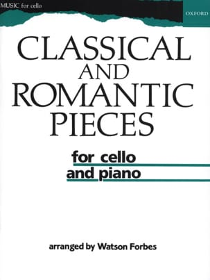 Watson Forbes - Classical and romantic pieces - Partition - di-arezzo.fr