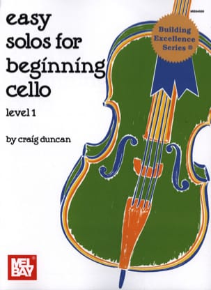 Craig Duncan - Easy Solos for beginning Cello - Level 1 - Partition - di-arezzo.fr