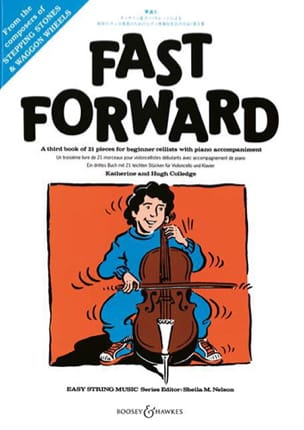 - Fast Forward - Violoncelle et Piano - Partition - di-arezzo.fr