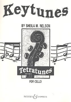 Keytunes for cello - Sheila M. Nelson - Partition - laflutedepan.com