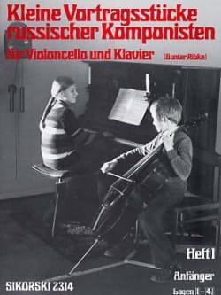 Kleine Vortragsstücke Heft 1 russischer Komponisten laflutedepan