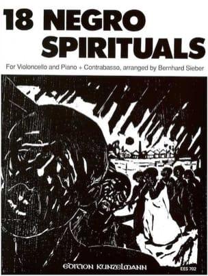 18 Negro Spirituals - Violoncelle - Bernhard Sieber - laflutedepan.com