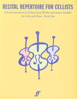 Recital repertoire for cellists - Book 1 - laflutedepan.com