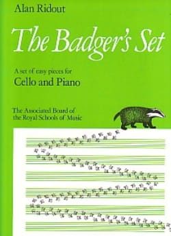 Alan Ridout - The Badger's Set - Partition - di-arezzo.fr