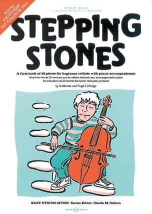 - Stepping Stones – Violoncelle et Piano - Partition - di-arezzo.fr
