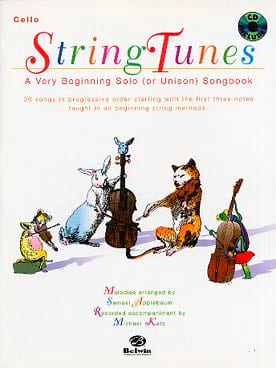 Samuel Applebaum - String Tunes - Cello - Sheet Music - di-arezzo.co.uk