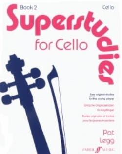 Pat Legg - Superstudies, Volume 2 - Cello - Partition - di-arezzo.fr