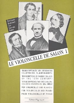 Johannes Degen - The Salon Cello Volume 1 - Sheet Music - di-arezzo.co.uk