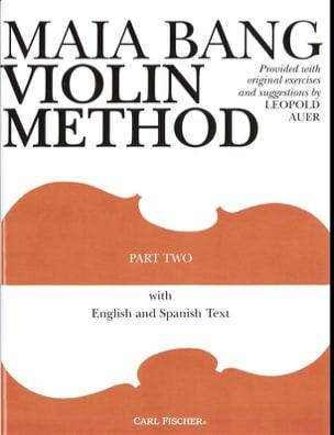 Maia Bang - Metodo di violino - Volume 2 - Partitura - di-arezzo.it