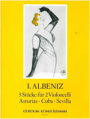 Isaac Albeniz - 3 pieces for 2 cellos - Sheet Music - di-arezzo.com