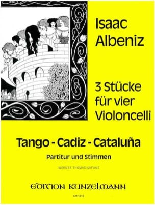 Isaac Albeniz - 3 pieces for 4 cellos - Sheet Music - di-arezzo.co.uk