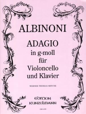 Tomaso Albinoni - Adagio in g-moll - Sheet Music - di-arezzo.com