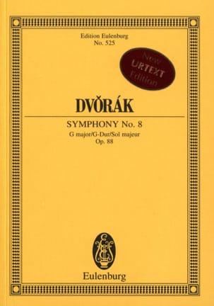 Antonin Dvorak - Symphonie N° 8 en Sol Majeur, opus 88 - Partition - di-arezzo.fr