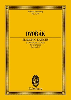 DVORAK - Slawische Tänze, Op. 46 N ° 1-4 - Driver - Sheet Music - di-arezzo.co.uk