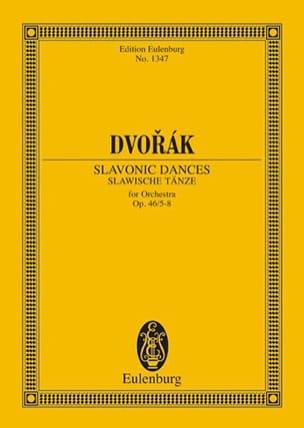 Danses Slaves, op. 46 n° 5-8 - Conducteur DVORAK laflutedepan