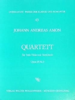 Quartett op. 18 Nr. 3 -Solo-Viola u. Streichtrio - laflutedepan.com