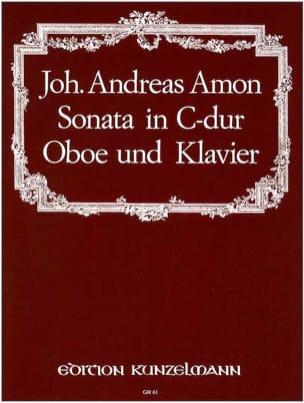 Johann Andreas Amon - Sonata in C Dur – Oboe Klavier - Partition - di-arezzo.fr