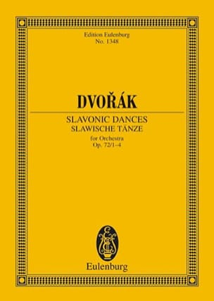 Antonin Dvorak - Slawische Tänze, op. 72 / 1-4 B 147) - Sheet Music - di-arezzo.co.uk