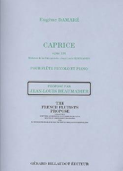 Caprice Opus 174 Eugène Damaré Partition laflutedepan