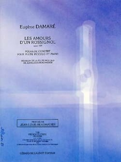 Eugène Damare - The loves of the nightingale op. 160 - Sheet Music - di-arezzo.com