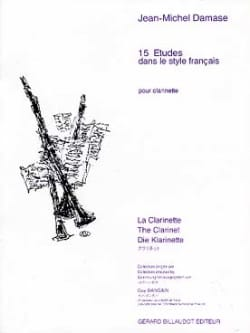 Jean-Michel Damase - 15 Etudes dans le style francais - Partition - di-arezzo.fr