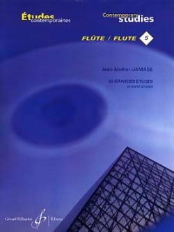 Jean-Michel Damase - 24 Grandes Etudes - Flute - Partition - di-arezzo.com