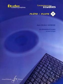 Jean-Michel Damase - 24 Grandes études – Flûte - Partition - di-arezzo.fr