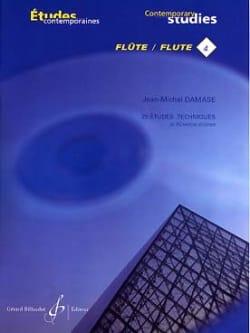 Jean-Michel Damase - 25 Technical Studies - Flute - Sheet Music - di-arezzo.com